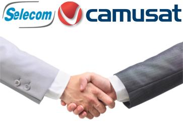 SELECOM et CAMUSAT annoncent leur partenariat international