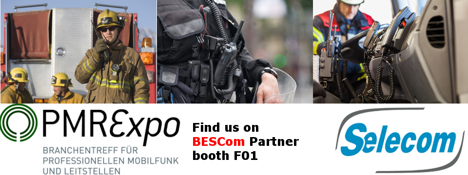 Bandeau SELECOM at PMRExpo 2014 in Cologne (Germany)