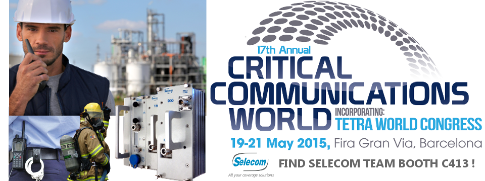 SELECOM at Critical Communications World 2015