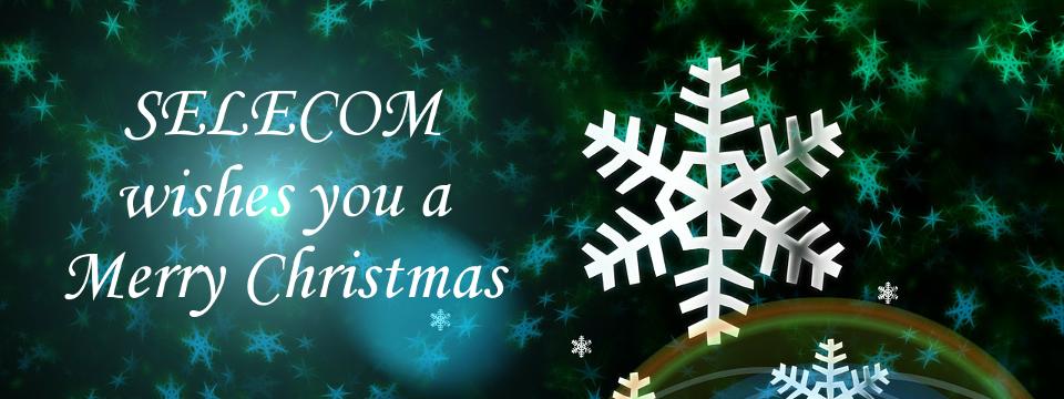 SELECOM wishes you a Merry Christmas